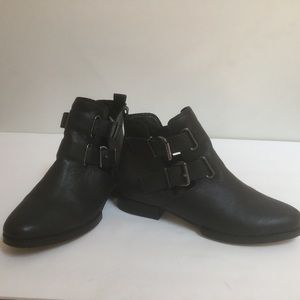 Modern Vice Truffle ankle  leather booties Sz 8